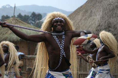 Dancer, cultural village