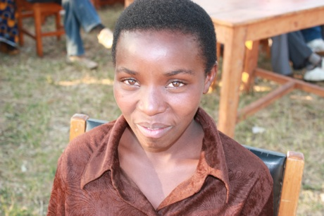 Sandra Mukantwari, 17, says the lessons she learned from Urunana helped her stay in school.